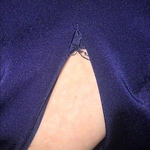 PromGirl Dresses - Navy blue dress